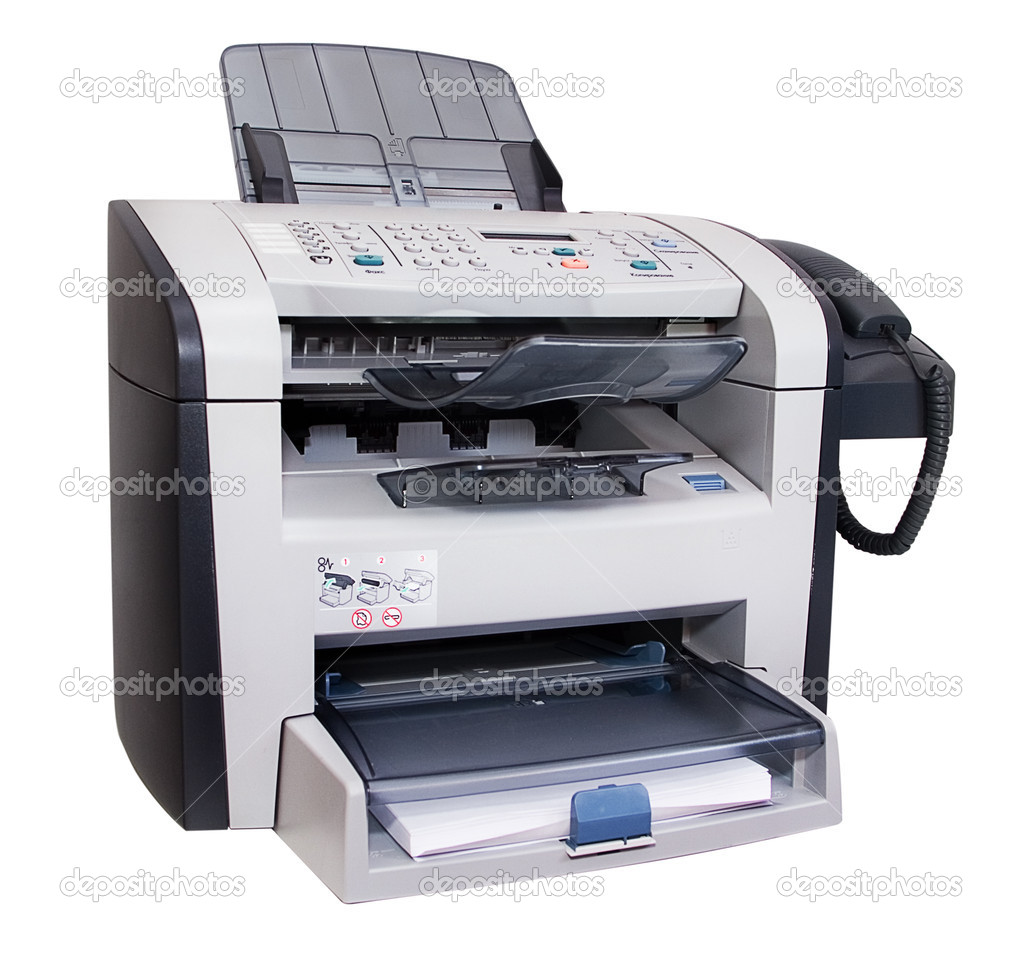 fax isolated stock photo supertrooper 3201949