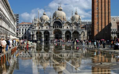 St. Marks Cathedral and square in Venice