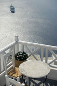 nave .balcony e crociera Santorini