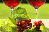 pohár vörös bor, a táblázat