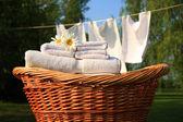 svěží vůni prádla