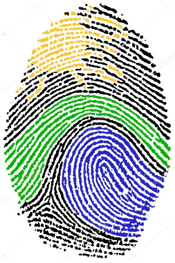 Nature sign Fingerprint