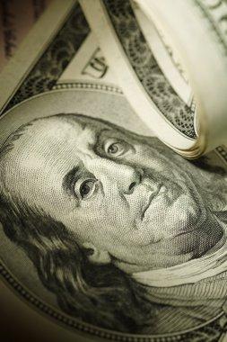 Dollar closeup