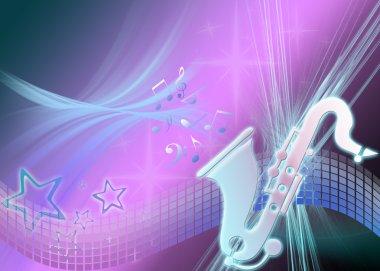 Saxaphone & Stars