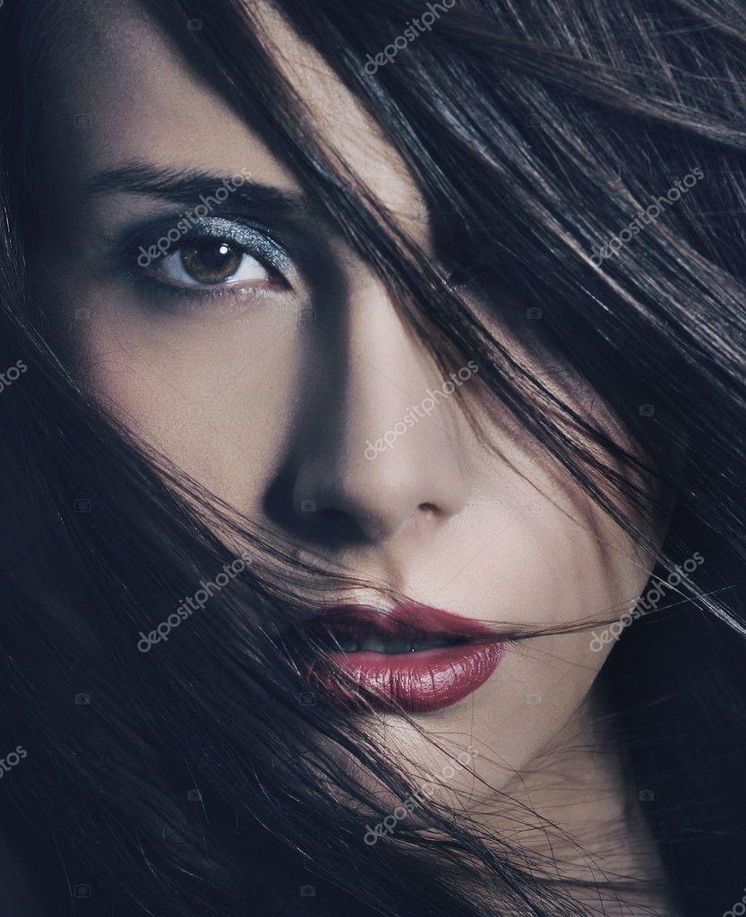 Fine art portrait of a young beautiful woman