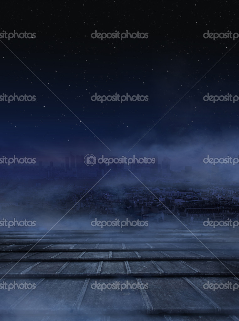 Фотообои Amazing view of city at the night