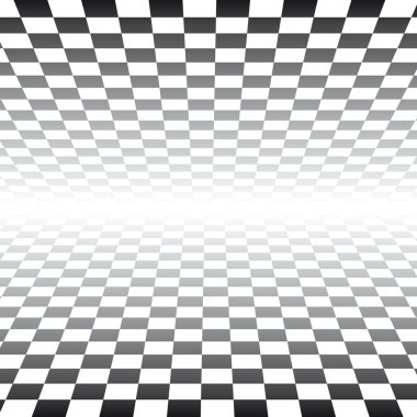 Checker Board Pattern Background - vector illustration