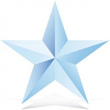 Star Op art vector illustration abstract