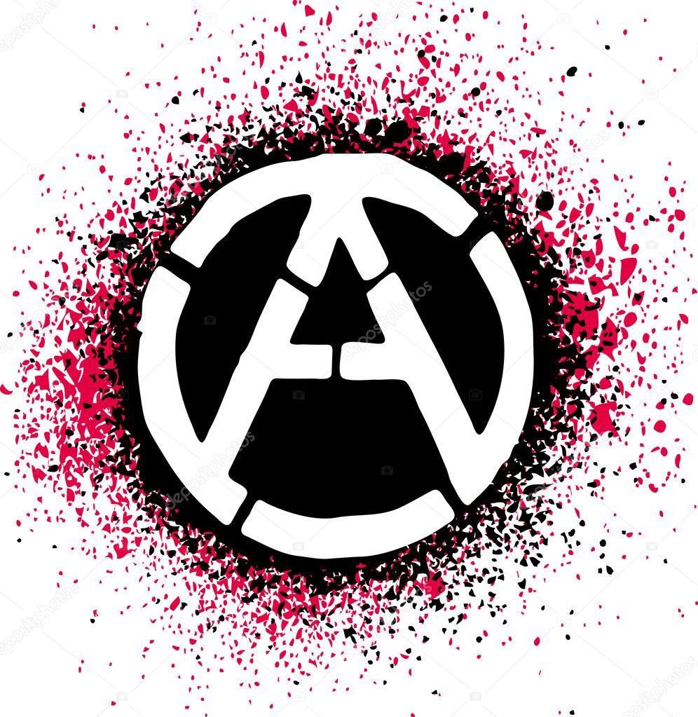 Anarchy symbol icon vector illustration stock vector alvaroc anarchy symbol icon vector illustration stock vector buycottarizona
