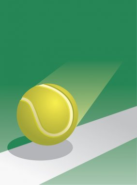 Tennis Ball in Flight