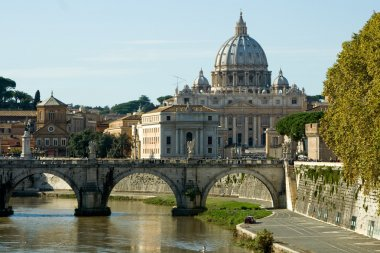 View of the Vatican with Saint Peter's Basilica