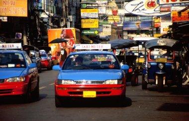 Taxi cab in Bangkok