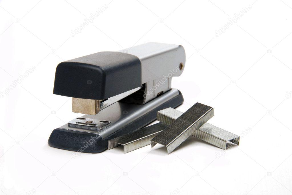 Hefter mit Heftklammern — Stockfoto © blackcurrent #3467718