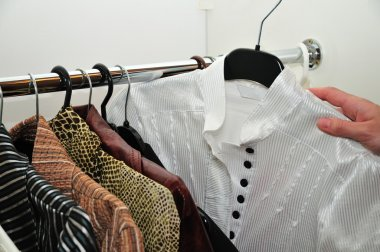 Choice of a blouse