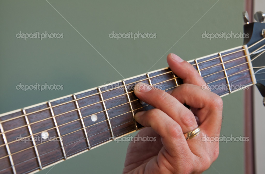 G7 Chord On Acoustic Guitar Stock Photo Jpainting 3729281