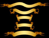 Fotografie Set of ribbons