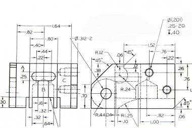 Engineering mechanical part