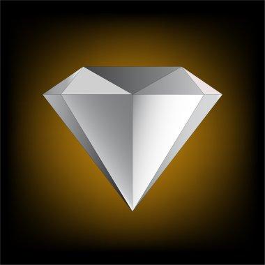 Diamond. Vector