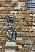 socha lva u palazzo vecchio