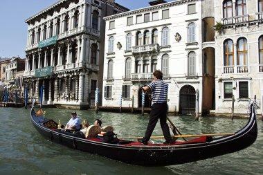 Gondola at the canal