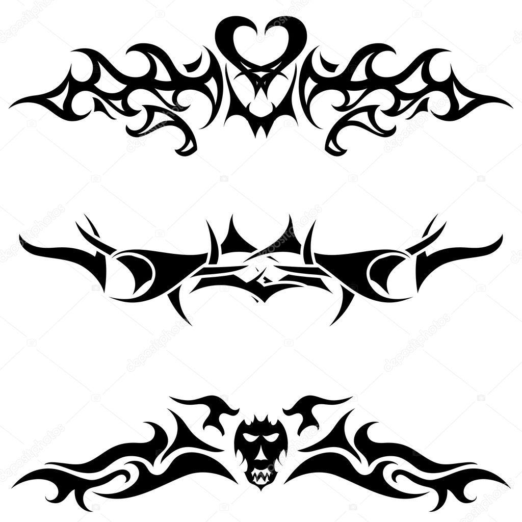 Tattoo Stock Photos: Stock Vector © Angelp #3496270