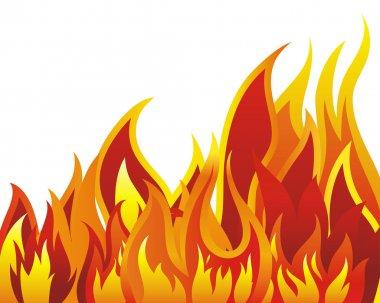 """Картина, постер, плакат, фотообои """"фон огня"""", артикул 3610109"""