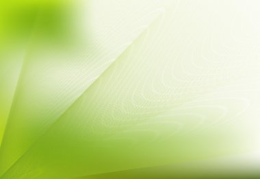 Abstract nature background in green pattern