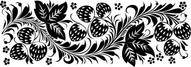 Vector. Russian traditional ornament