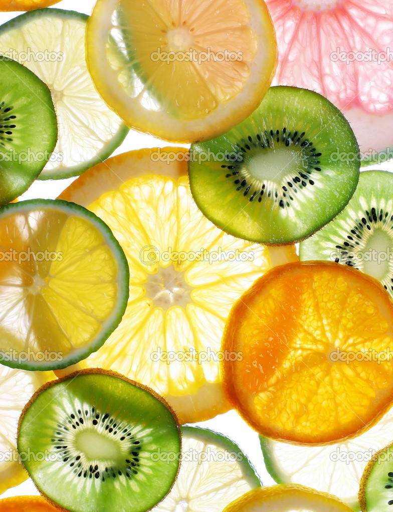 Citruses slices