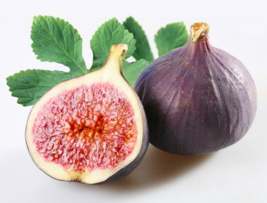 Figs on a white