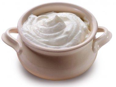 Pipkin with sour cream