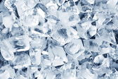 Photo Background in the form of ice cubes