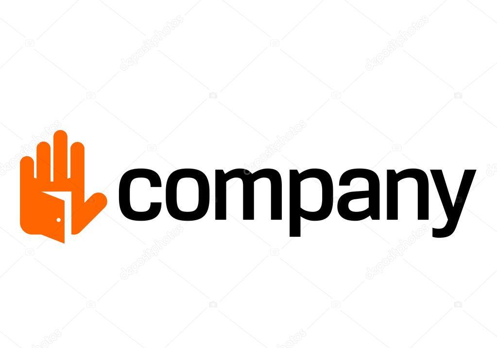 Open house door logo \u2014 Stock Vector  sc 1 st  Depositphotos & Open house door logo \u2014 Stock Vector © nicefiles #3414574