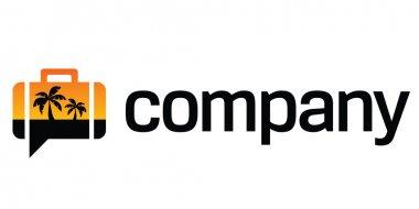 Tropical travel logo