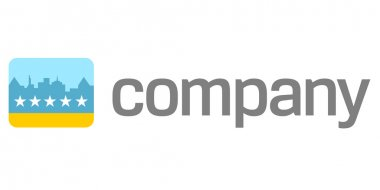 Travel logo - hotel rating icon