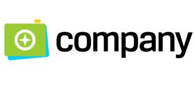 Photo camera shot logo