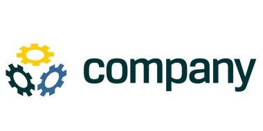 Gear logo for repair service company