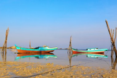 Fishing Boats, Belitung Island Indonesia
