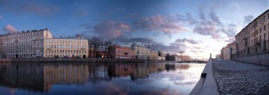 St. Petersburg, river Fontanka