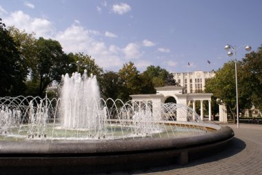 Fountain on the square