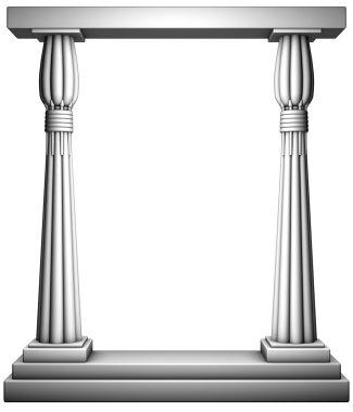 Columns frame