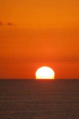 Sunrise in Red Sea