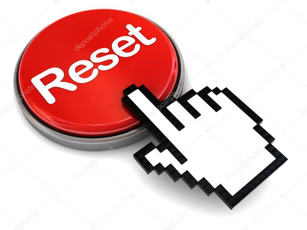 リセット ボタン ストック写真 mmaxer 3504756