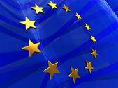 Photo European flag background
