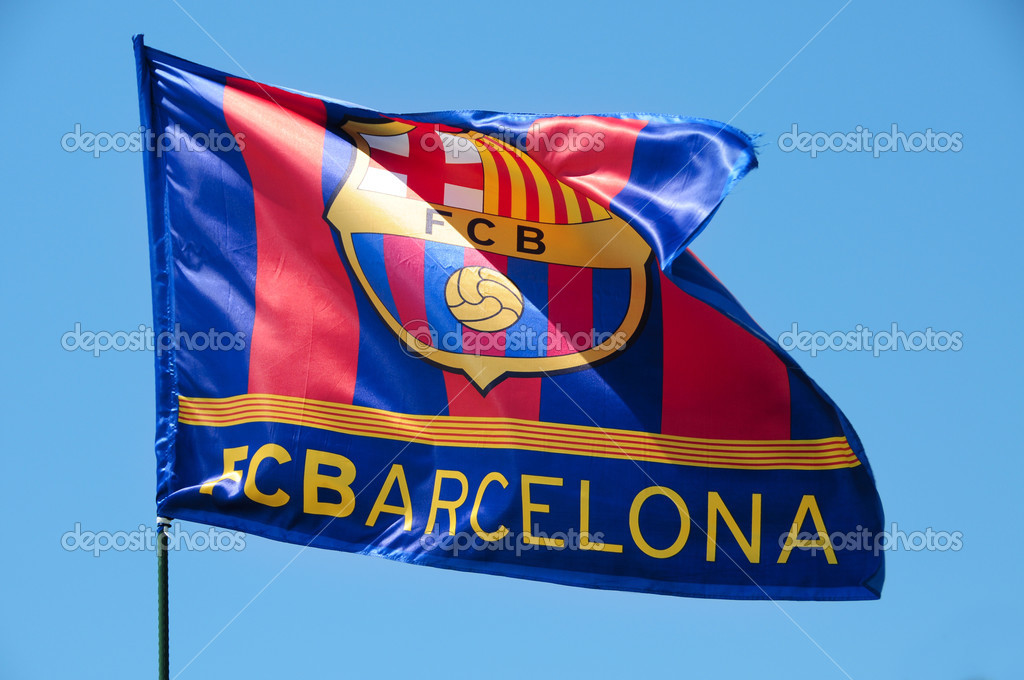 Pictures Barcelona Flag Fc Barcelona Flag Waving On The Wind Stock Editorial Photo C Nito103 3545920