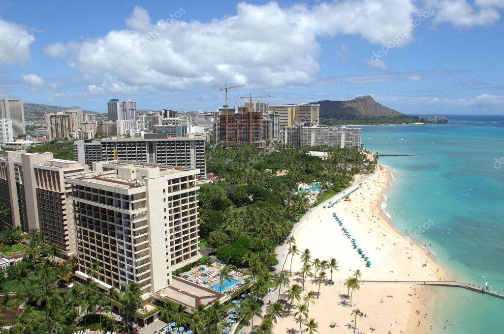Waikiki Beach to Diamond Head