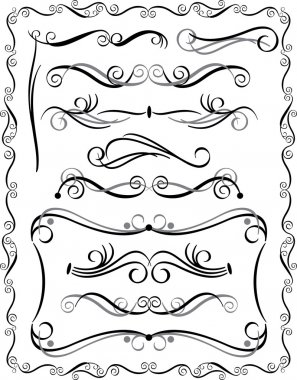 Decorative Borders Set 3