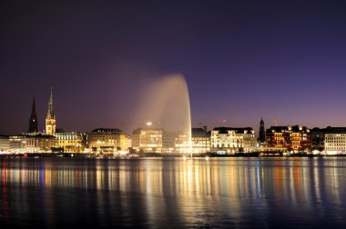 The Alster of Hamburg