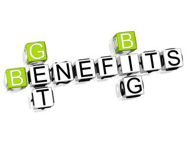 Get Big Benefits Crossword