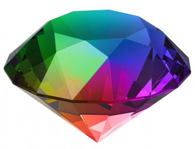 Isolated beautiful gem